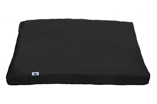Zen Naturals Square Zabuton Meditation Cushion Stuffed firm with Cotton to Support Your Legs and Knees
