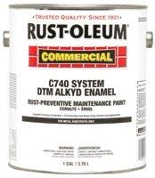 Rust-Oleum 255555 Alkyd Enamel Flat Gray Primer Rust-Preventative Maintenance Paint