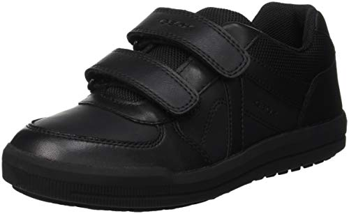 Geox Boy's J Arzach B. E - GBK+SMO.LEA Shoe, Black, for sale  Delivered anywhere in Canada