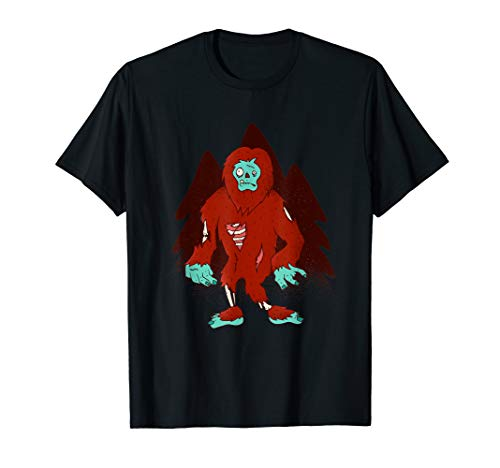 (Zombie Bigfoot - Halloween Scary Outfit Idea )