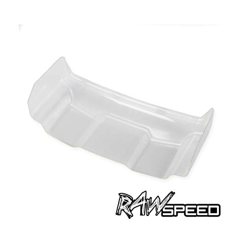 Raw Speed RC 1/10 Buggy Rear Wing Pre-Cut (2) 790201