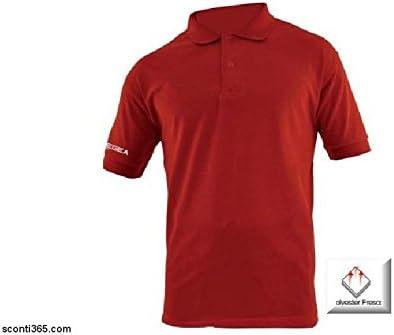 Legea Zenith Unisex Adulto Polo Camisa Blanco, Color - Red, tamaño ...