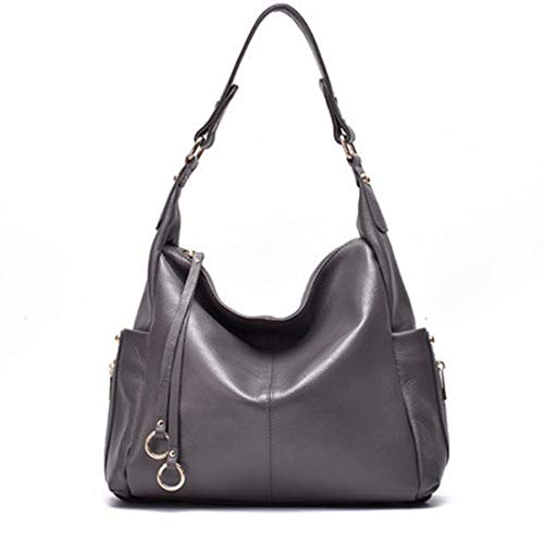 Kervinzhang Nera Borsa Gray Royal Da Tracolla Pelle Dark In Donna A color Blue 6w6xqFZr