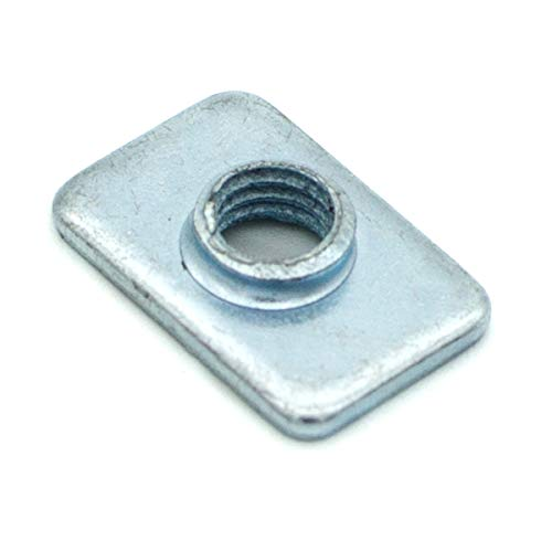 - Pre-Assembly Square Nuts Flat M5 T Nut for 2020 Aluminum Extrusions Pack of 100