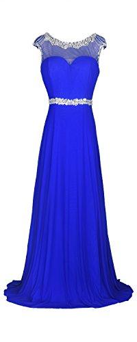 - conail Coco Women's Elegant Royal Formal Dresses Wear Long Wedding Party Gowns (XLarge, 57Blue)
