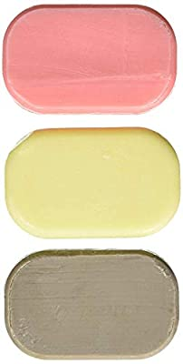 Dead Sea mud and salt dual bar soap - therapeutic - 3.2 Ounce Bars.