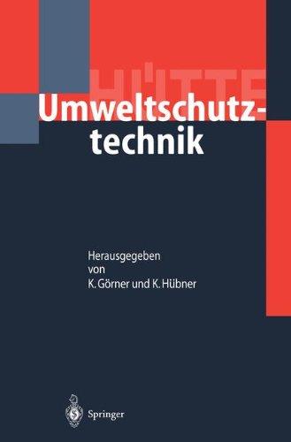 Hütte: Umweltschutztechnik (VDI-Buch)