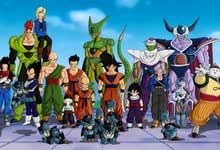 Vegeta Cell C son goku Trunks Anime son Goten hijo Gohan ...