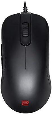 Mouse BenQ ZOWIE FK2-B para e-Sports, sensor 3360, ideal para destros, preto, pequeno, perfil baixo, plug &