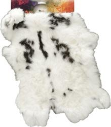 Bulk Buy: Leather Factory Rabbit Skins Natural 9305-00 (3-Pack)