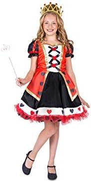 Disfraz de reina de corazones niña: Amazon.es: Juguetes y juegos