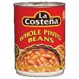 La Costena Whole Pinto Beans, 1.21 Pounds Can by La Costena