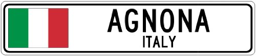 agnona-italy-italy-flag-city-sign-9x36-quality-aluminum-sign