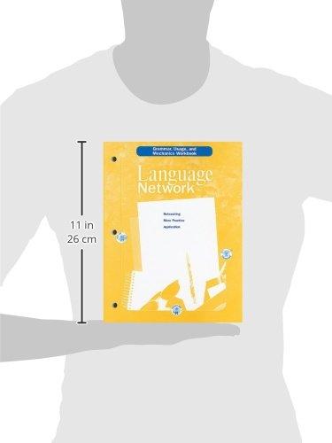 McDougal Littell Language Network: Grammar, Usage, and Mechanics Workbook Grade 06 by Brand: MCDOUGAL LITTEL