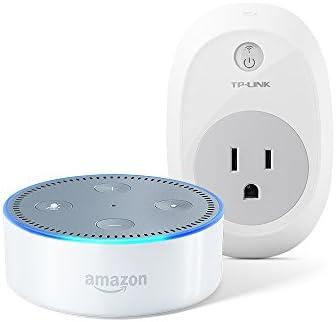 Amazon Echo Dot 2nd Generation + TP-Link HS100 Smart Plug