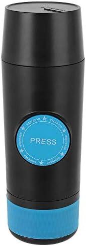 Machine à café de Poche de Machine à café de Voiture pour Faire la Poudre de Capsule USB Rechargeable pour l'outil de Boisson de Camping à la Maison de Voyage
