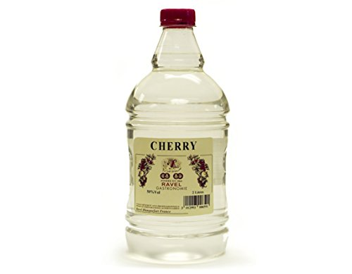 Kirsch Brandy - Cherry Pastry Liqueur, Gelified (Only for Baking- Not Drinking)