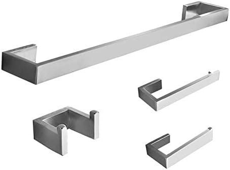 バスルームアクセサリー 304ステンレス鋼4ピースバスルームアクセサリーセット米国市場で最高の売り手