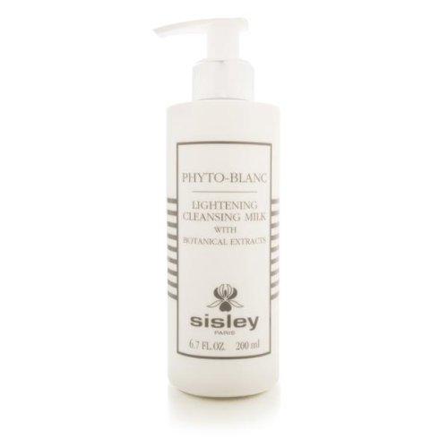 - Sisley Phyto Blanc Lightening Cleansing Milk for Unisex, 6.7 Ounce