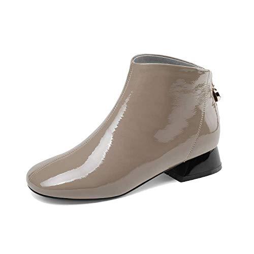 2f93f048a708e Européen Tous Chaussons Bottes Américain Chaussures Jours Mode Beige ZPEDY  Et Les Style Femmes Confort Martin ...