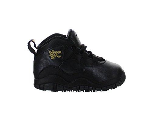 Nike Jordan Toddlers Jordan 10 Retro Bt Black/Black/Drk G...