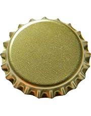 Newbox - Corchos de corona (26 mm, 1000 unidades), color dorado