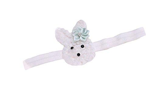 Headband Rabbit Flowers Easter JHE02