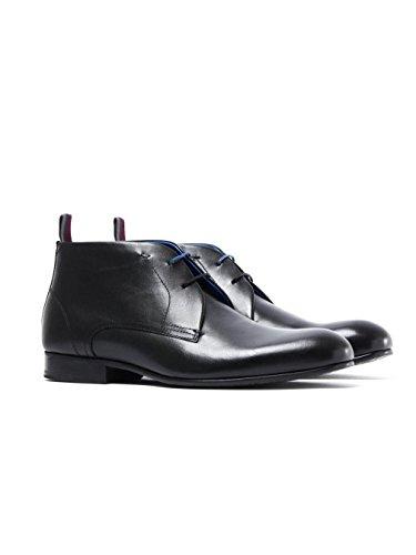 Boots Baker Leather Ted Black Moyzes Desert wZWp6RRUqX