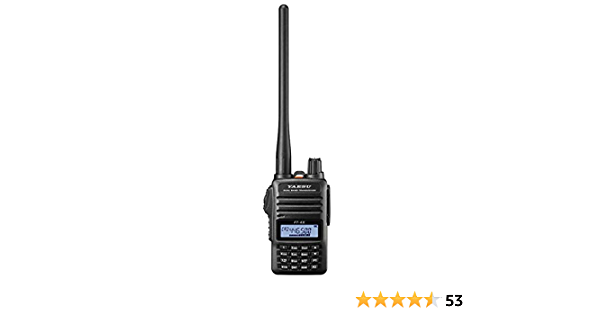 YAESU FT4XE Walkie Talkie Bibanda VHF/UHF 144 -440 Mhz PINGANILLO PIN19M