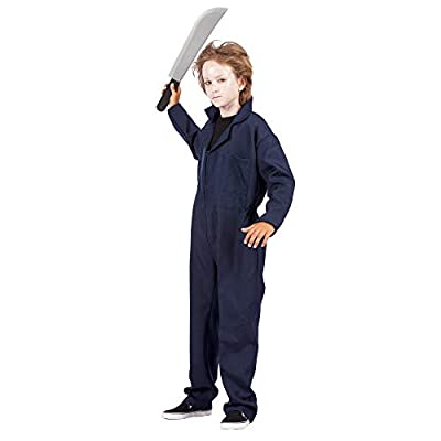 Arology Overalls Jumpsuit Boy Child Kid Costume, Fabric for Comfortable Wear and Fit with Zipper Closure, Navy Blue: Clothing