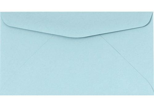 #6 3/4 Reply Business Envelopes Envelopes - 50 Per Pack (Pastel Blue)