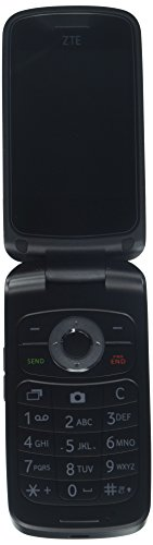 TracFone Z233 Flip Prepaid Carrier Locked – 2.8inch Screen – 512MB – Black (U.S. Warranty)