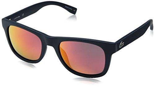 Lacoste L790s Rectangular Sunglasses, Matte Blue Night, 52 - Women For Lacoste Sunglasses