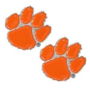 NCAA Clemson Tigers Stud Earrings ()
