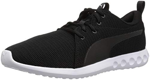 - PUMA Men's Carson 2 Sneaker Black White, 12 M US