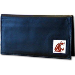 Siskiyou NCAA Washington State Cougars Leather Checkbook ()