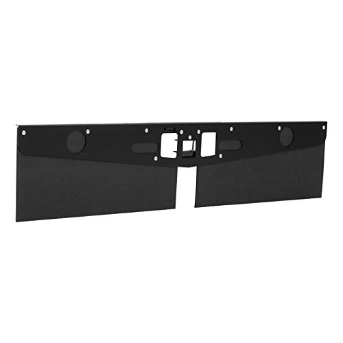 LUVERNE 255200 15-Inch Long Textured Rubber Tow Guard Hitch-Mounted Mud Flaps for 2, 2-1/2 or 3-Inch Ball Mount Shank