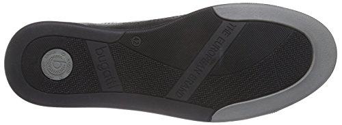 Bugatti 311137041000 - Zapatillas Hombre Negro - Schwarz (schwarz 1000)