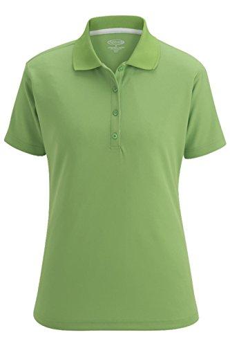 Women Mojito Green - Averill's Sharper Uniforms Women's Moisture Management Hi-Performance Polo Shirt, X-Large, Mojito