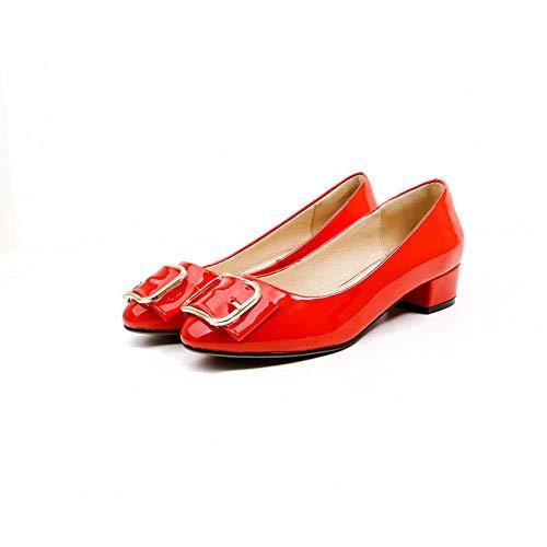 Rouge Compensées 5 Red Femme BalaMasa APL11064 EU Sandales 36 wq40UOEIO