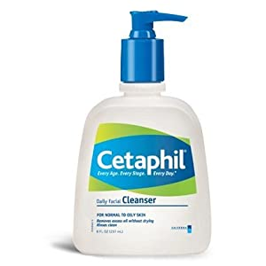 Cetaphil Daily Facial Cleanser, for Normal to Oily Skin, 20 Oz Bottles (Pack of 2)