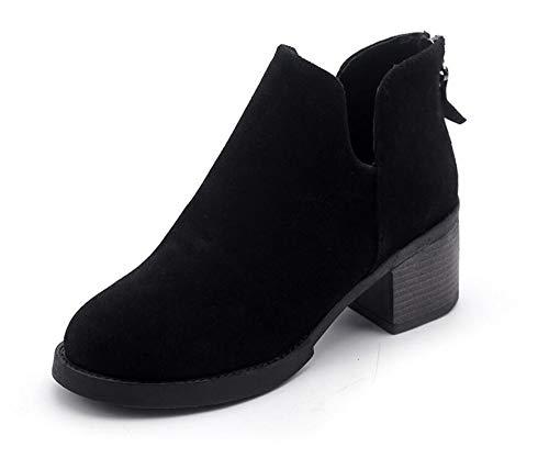 e donna scarpe con da di rudi stivali LIGYM martin dura b gli signore nTCqx8I1