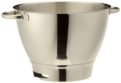 Kenwood 36385, Attachment Chef Stainless Steel Bowl with Handles, OVERSEAS USE ONLY, WILL NOT WORK IN THE US by Kenwood