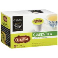 Celestial Seasonings Green Tea K-Cups (Case of 6)