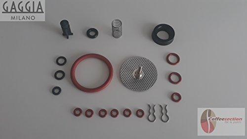 Saeco Digital Coffee Maker (Saeco Gaggia Parts Set - Repair Kit for Titanium, Titanium plus, Magic, Incanto)