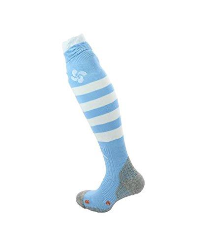 Calcetines Rugby – Aviron Bayonnais hogar – Kappa, color azul cielo, tamaño 39 /