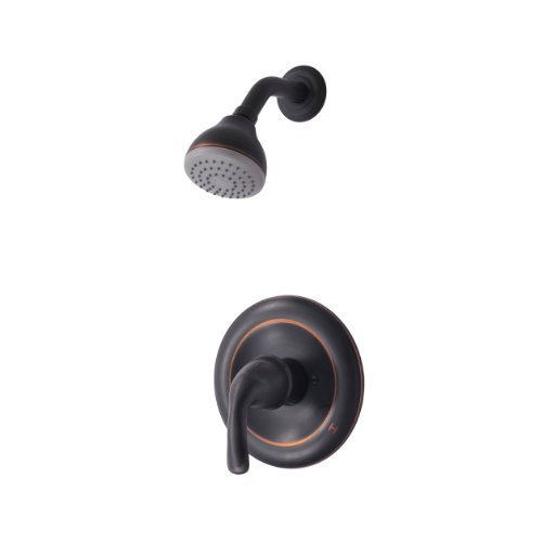 Ultra Faucets UF78505-1 Vantage Collection Single-Handle Shower Only Faucet, Oil Rubbed Bronze