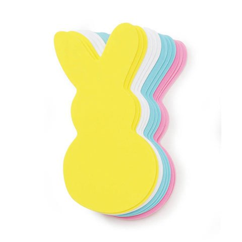 Set of 24 Large Bunny Foam Shapes