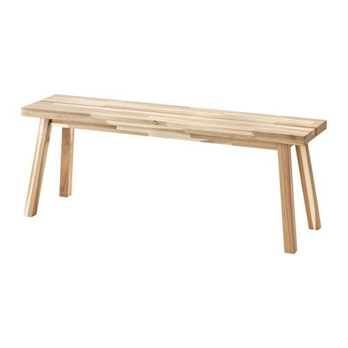 Ikea Bench, acacia 826.292329.2230