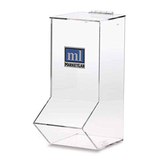 Acrylic Wall Dispenser Single 6.5''W x 10.25''D x 14.75''H
